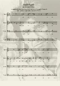 Hallelujah TTBB – Music score
