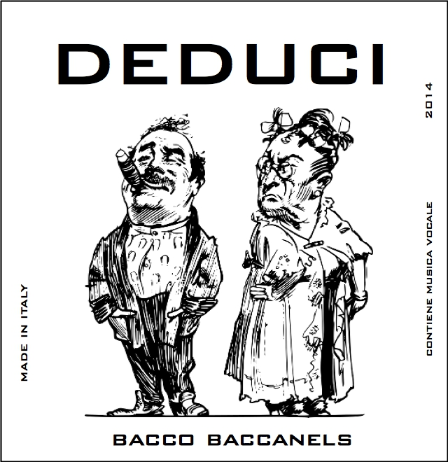 Deduci (Deduce) – music score