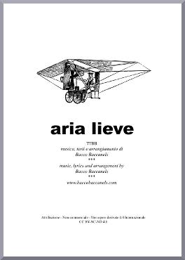 Aria lieve (Mild tune) – Music score